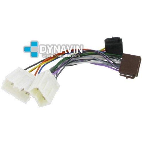 ISO-VOL.2000 - Conector iso universal para instalar radios en Volvo. Dynavin
