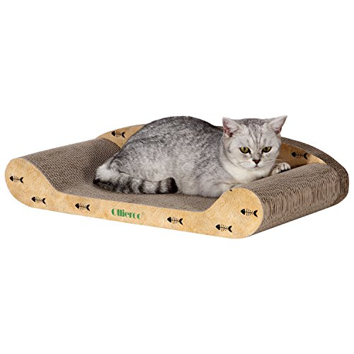 Ollieroo Curve Cat Scratching (Carpeted Cat)