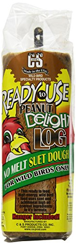 C & S Products Ready To Use Peanut Delight Log, 8-Piece ()