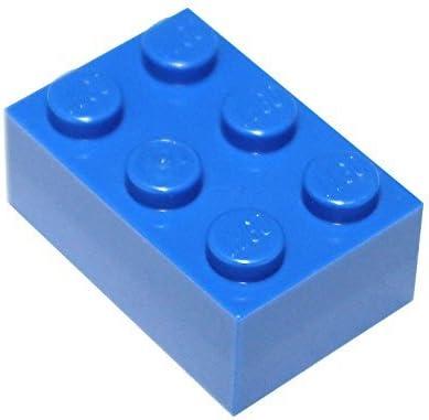 LEGO Parts and Pieces: 2x3 Blue (Bright Blue) Brick x50