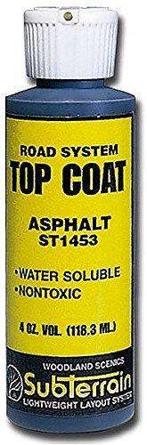 Woodland Scenics WS 1453 Top Coat Asphalt Paving 4 oz.