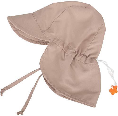 - SimpliKids UPF 50+ UV Ray Sun Protection Baby Hat w/Neck Flap, Khaki2 , 6-18 Months