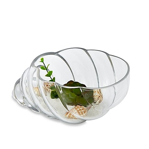 Habitat Large Bowl Terrarium with Faux Fill l Faux Succulents, Stones and Pebbles for a Realistic Addition to your Home (Airline Tickets To Florida compare prices)