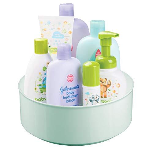 mDesign Plastic Spinning Turntable Organizer product image