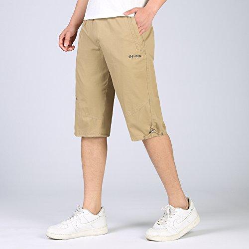Insun - Pantalón corto - para hombre caqui