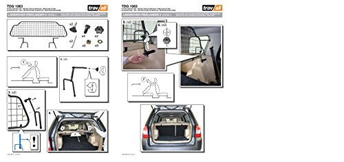 Travall Guard TDG1063 - Vehicle-Specific Dog Guard 7