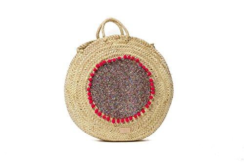 Ansa per Ansa Menorca Africa R, Bolso de Mano para Mujer, 10x40x40 cm (W x H x L) Varios Colores (Multicolor)