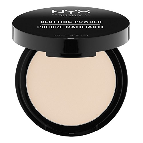 NYX Professional Makeup Blotting Powder, Light/Clair, 0.29 - Powder Compact Mirror