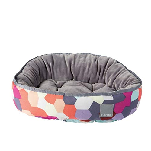 FuzzYard Kaleidoscope Reversible Dog Bed Medium