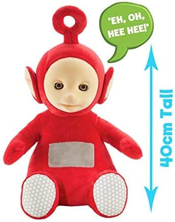 Teletubbies Talking Soft Toy-Po Rouge Peluche Peluche avec son et phrases