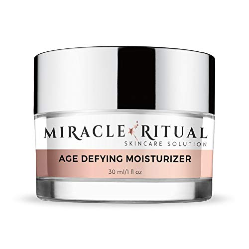 Miracle Ritual Age Defying Moisturizer - Anti Aging Day and Night Cream - Feel Youthful AND Beautiful Daily - Gentle Yet Potent Skin Cream