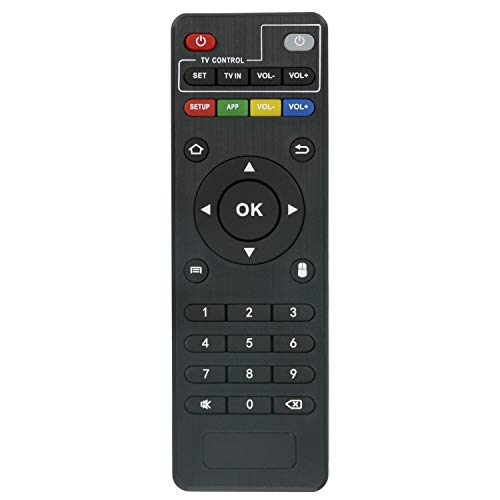 New Replacement Remote Control fit for MXQ (Amlogic S805/S905), MXQ 4K, MXQ Pro, MXQ PRO 4K, M8, M8C, M8N, M9C, M10, T95, T95M, T95N, T95X, MX9, H96, H96 pro+ (But H96 Plus) MXQ Android Smart TV Box