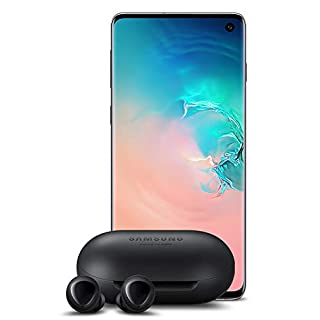 Samsung Galaxy S10 Factory Unlocked Phone with 512GB (U.S. Warranty), Prism White w/Galaxy Buds