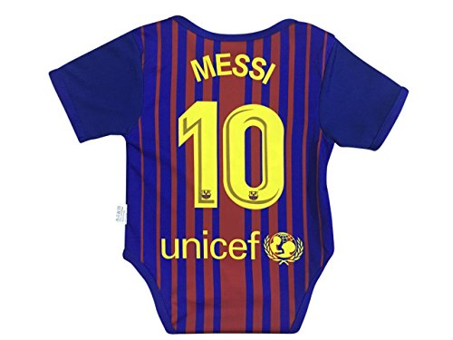 buy online 6518a 00b84 World Cup Baby New Lionel Messi #10 Soccer Jersey Baby Infant and Toddler  Onesie Romper Premium Quality (12-18, Pack of 2)