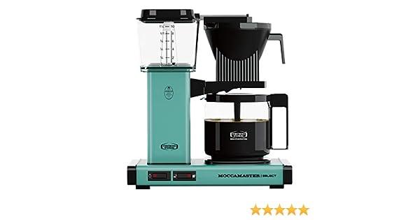 Moccamaster - Filtro para cafetera turquesa: Amazon.es: Hogar