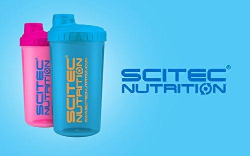 Scitec Nutrition – Coctelera para batidos de proteína, rosa neón, 700 ml