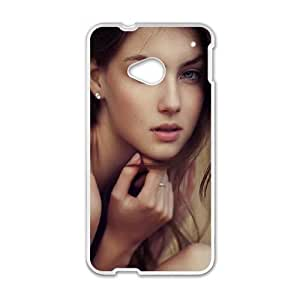Celebrities Vika Levina HTC One M7 Cell Phone Case White Exquisite gift (SA_514470)