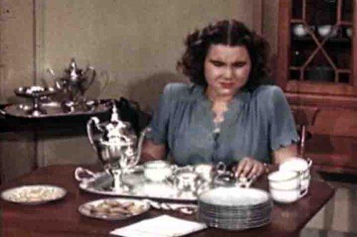 1950s Tea Party & Formal Buffet Films DVD: Vintage Tea Party Hair, Wear, Menus, Games, Invitations, Ideas & Etiquette for Tea Dinner Parties (Settings Buffet)
