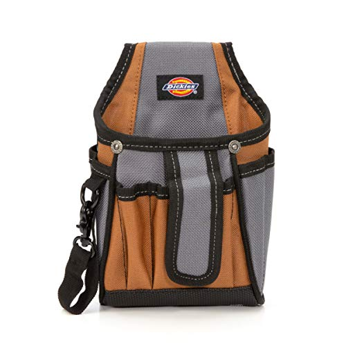 Dickies Work Gear 57098 7-Pocket Tech Pouch with Tape Tether by Dickies Work Gear