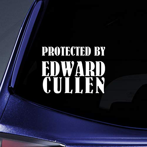 Bargain Max Decals - Protected Edward Cullen Twlight Moon Sticker Decal Notebook Car Laptop 8