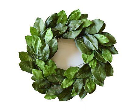 Magnolia Floral Wreath (Mills Floral Mountain Magnolia Wreath 24