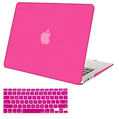Mosiso Plastic Hard Case with Keyboard Cover for MacBook Air 11 Inch