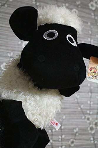 12-Hand-Puppets-Early-Childhood-Lovely-Animals-Big-Hand-Puppets-for-Children-Story-Telling-Stuffed-Plush-Toy-for-Adults-Black-Sean-Sheep
