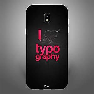 Samsung Galaxy J5 2017 I love typography