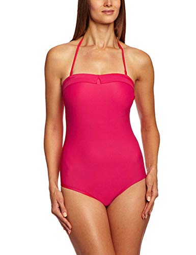 Panache Dolly - Cleo By Panache Women's Dolly Underwire Bandeau Swimsuit Strawberry 38E