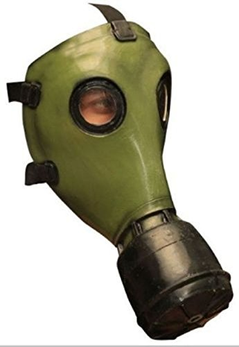 Hand Arm & Zombie Gloves (Gp-5 Russian Style Gas Mask Green Latex Zombie Apocalypse Costume)