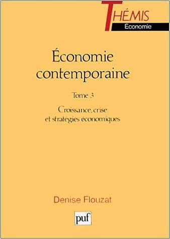 En ligne téléchargement Economie contemporaine, 7e édition pdf, epub ebook
