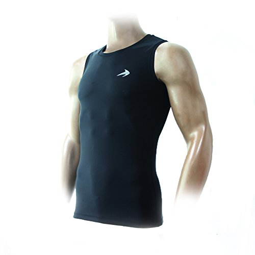 Compression Tank Top Men's Muscle Running Base Layer Sleeveless Sports Tee