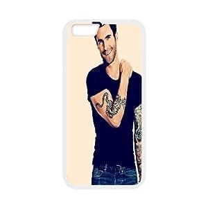 Adam Levine Charming Smile IPhone 6S Cases, Bloomingbluerose {White}