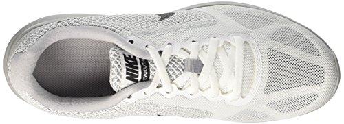 Nike Mens Revolution 3 Sportschoen Wit / Metallic Hematiet / Wolf Grijs / Zwart