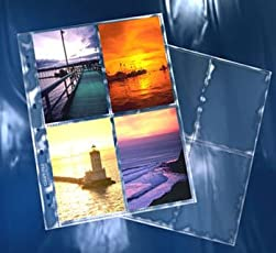 Clear File - Extra Tall 4 4x6 Archival Plus Print Page #360025B #36B - 25 Pack