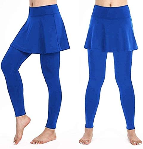 lentra/înement et Course /à Pied Pantalon Grande Taille S-XL Sunenjoy Jupette Legging Femme Sport Legging de Compression Convient pour Tennis Yoga Pilates