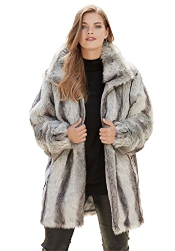 Chinchilla Fur Coat - 7