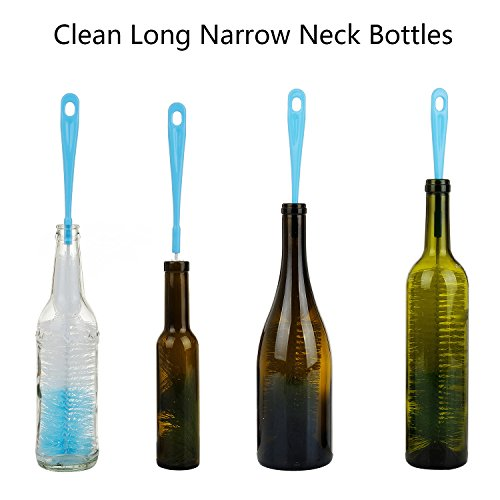 AUTHENTIC 3-Pack Long Bottle Cleaning Brush for Narrow ...