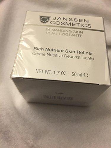 Janssen Cosmetics Demanding Skin Rich Nutrient Skin Refiner 50ml Retail Size (50ml Retail Size)