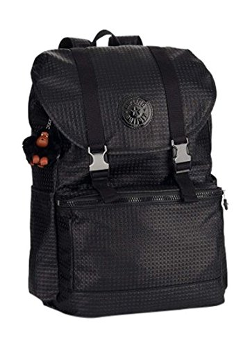 Kipling Experience Zaino Grande, Mexican Mix Pr Multicolore Nero Black Dot Mix