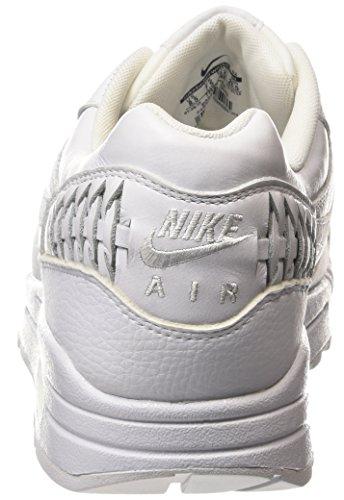 51ae0709ce9 ... Nike Air Max 1 Woven - zapatillas de running de piel hombre blanco -  Weiß ...