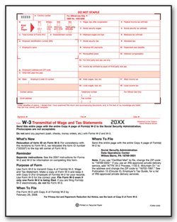 Amazon.com : EGP IRS Approved - W-3 Tax Summary Form : Tax Record ...