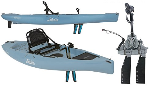 2018 Hobie Mirage Compass Pedal Kayak w/Reverse Drive (Slate Blue)