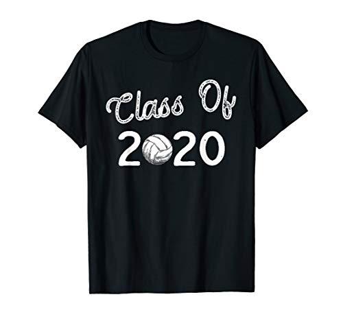 Graduation Volleyball TShirt Gift Class of 2020 Shirt