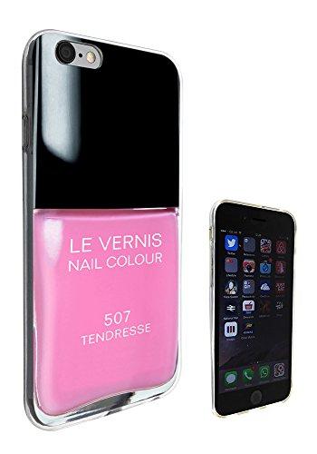C0679 - Designer Nail Polish Pink Design iphone 6 6S 4.7'' Fashion Trend Silikon Hülle Schutzhülle Schutzcase Gel Rubber Silicone Hülle