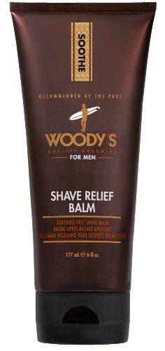 Shave Balm secours de Woody, 6 oz