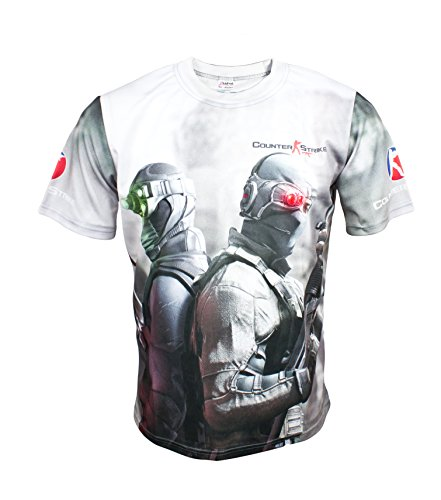 CS GO Counter Strike Global Offensive Game Black Short Sleeve Cool Shirt