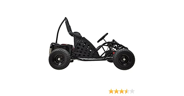 Amazon.com: MotoTec MT-GK-01 Black Off Road Go Kart - 48V: Toys & Games