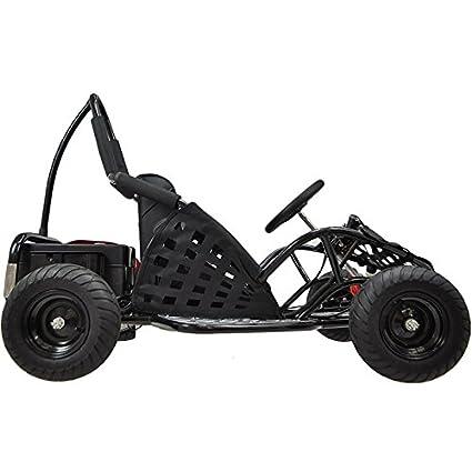 Amazon.com: MotoTec MT-GK-01 Black Off Road Go Kart - 48V: Toys & Games