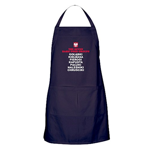 CafePress Seven Basic Polish Food Groups Kitchen Apron with Pockets, Grilling Apron, Baking Apron
